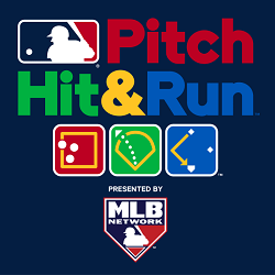 MLB Pitch Hit & Run Logo